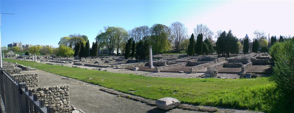 zájezdy do Maďarska - Maďarsko - Budapešť - Aquincum, zbytky římských lázní, památka UNESCO od 1987